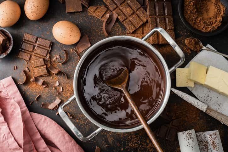 チョコ 手作り 友
