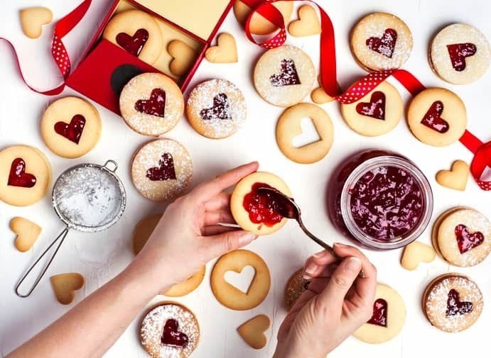 大量 生産 バレンタイン
